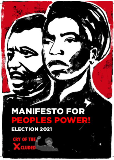 Launch of Manifesto for Peoples Power